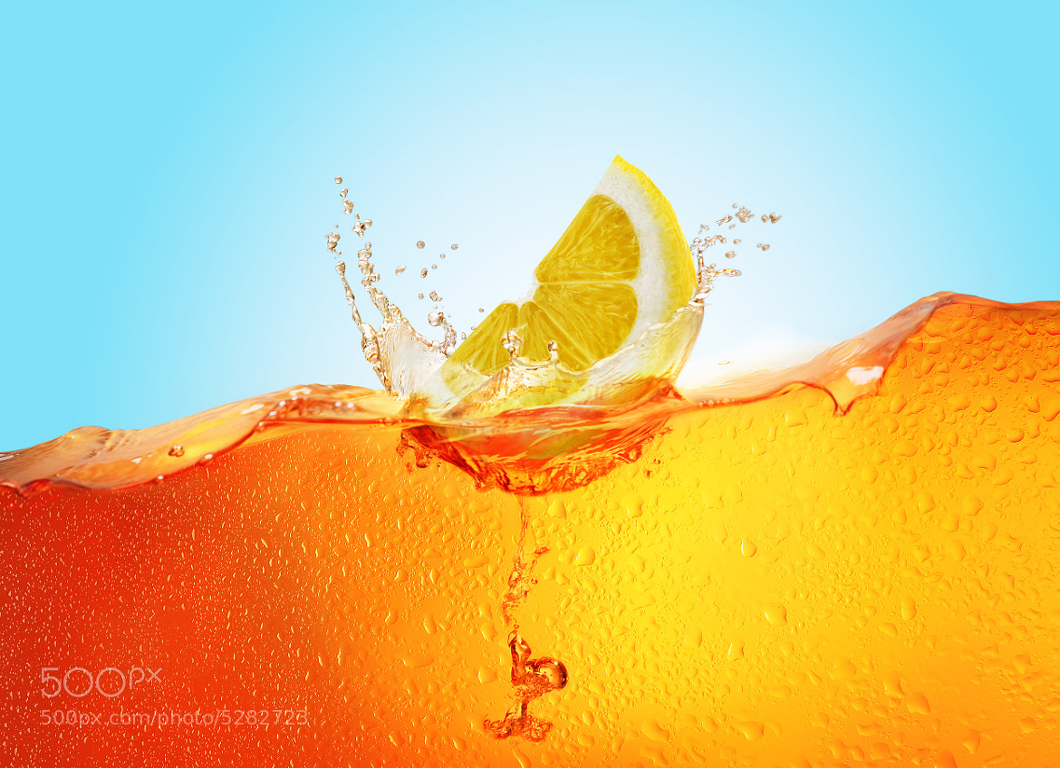 Photograph Lemon Tea Splash by Studio  Blu 2.0 on 500px