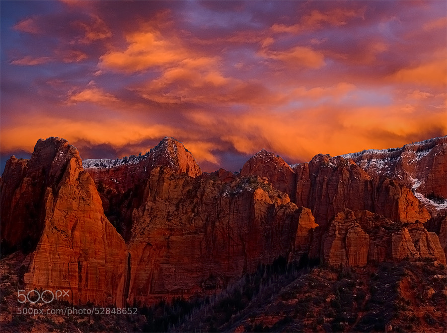 Photograph Kings of Kolob by Rick Lundh on 500px
