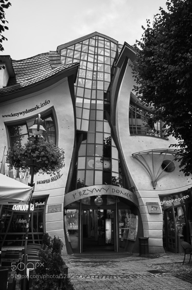 Photograph Crooked house  by Endika Montejo on 500px
