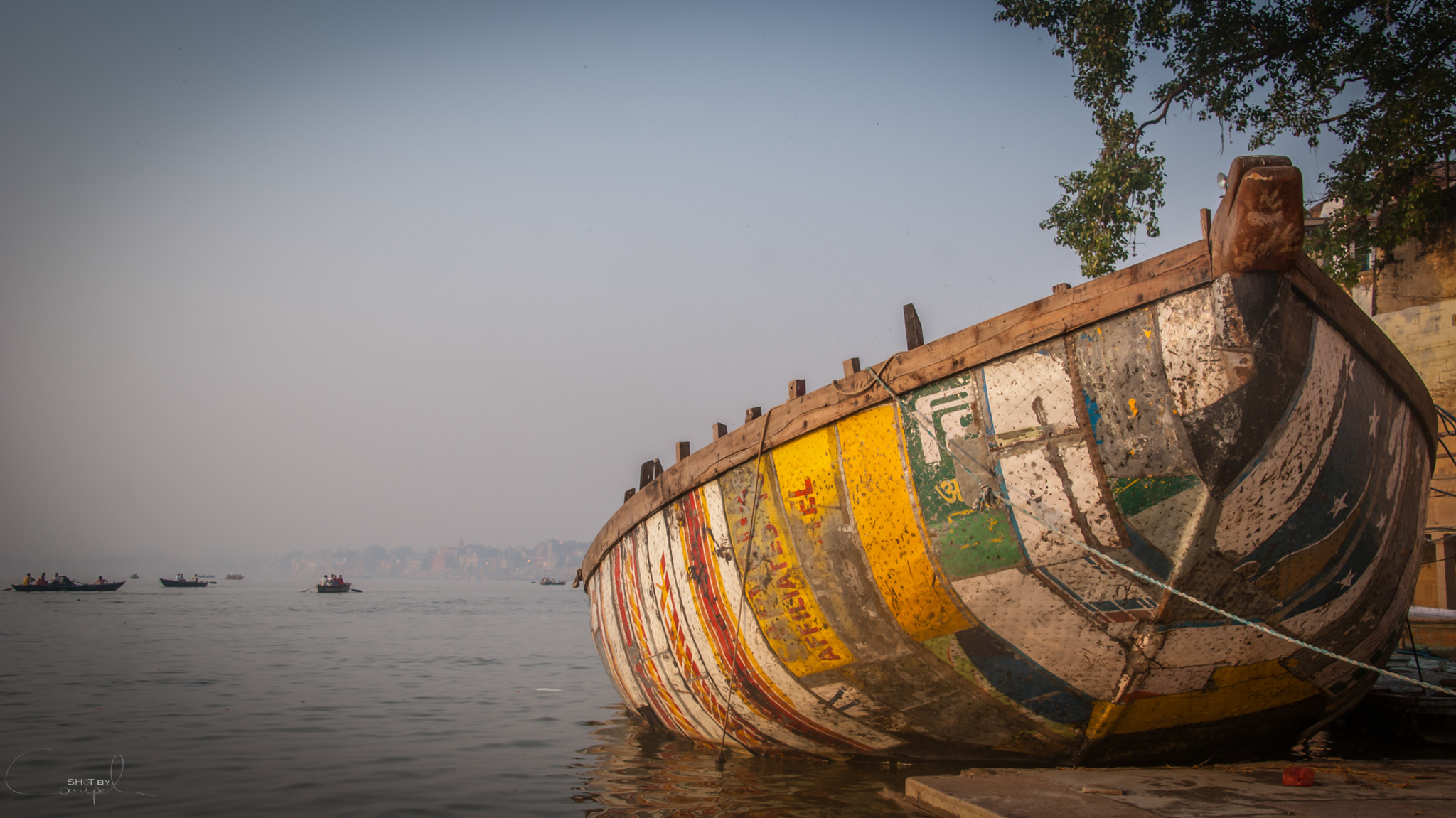 Photograph Ganges boat by Jelle Canipel on 500px