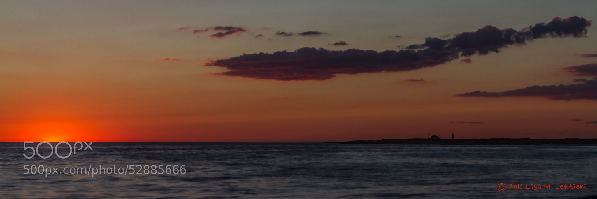 Photograph Cape Cod Sunset by Lisa Lettieri on 500px