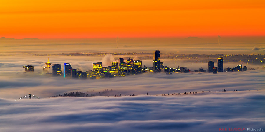 City in the clouds by Josh Levinson on 500px.com