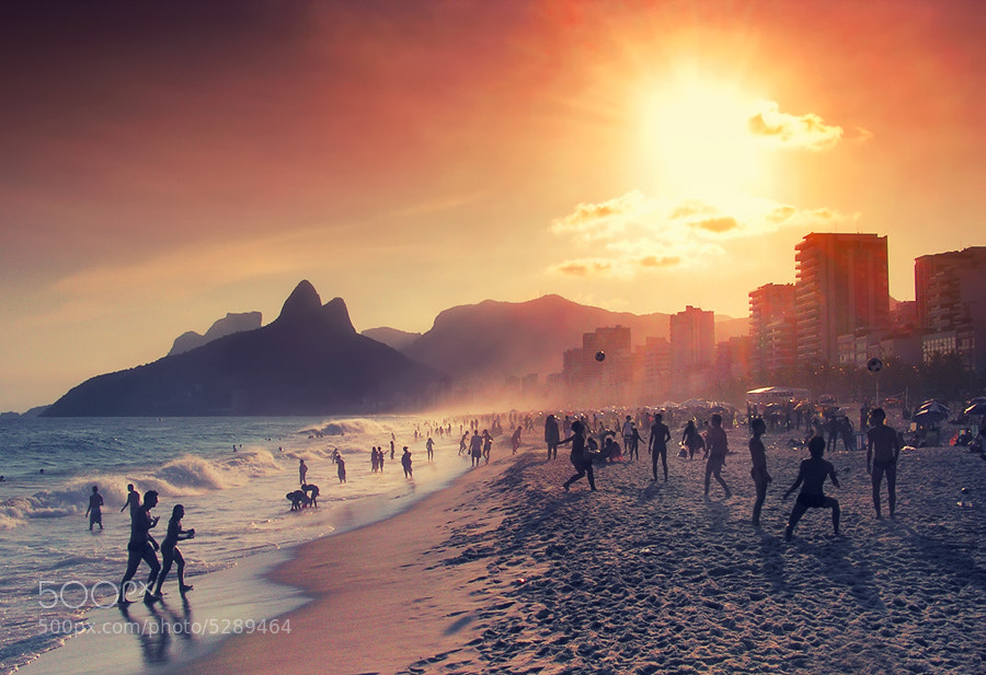 Relaxing in Rio