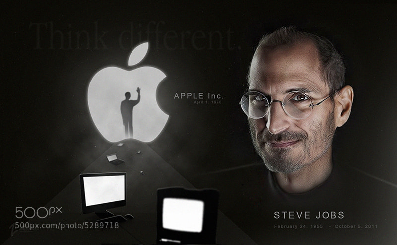 Photograph happy birthday Steve Jobs by  Zi on 500px
