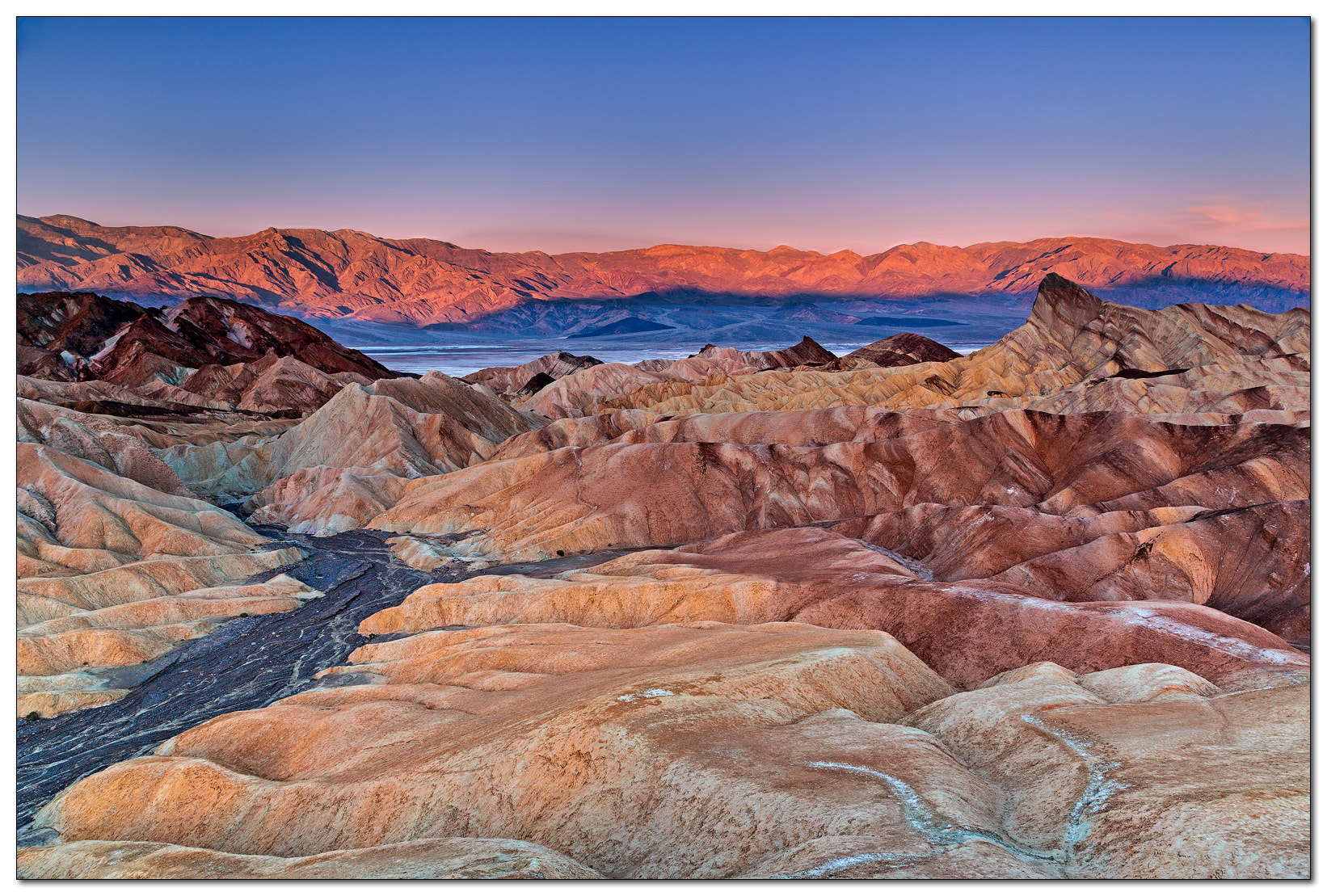 Photograph Zabriske Point, Death Valley NP by Jameel Hyder on 500px
