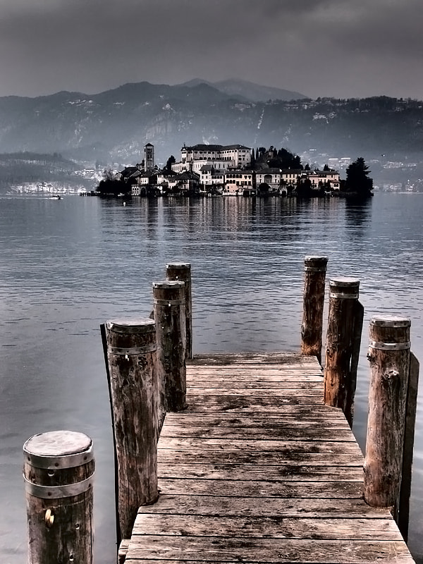 Photograph Orta San Giulio 2° by Elisabetta Vitellozzi on 500px