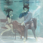 Постер, плакат: Life under water real shooting