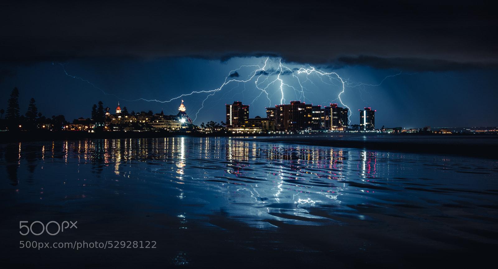 Photograph San Diego Lightning by Dustin Singler on 500px