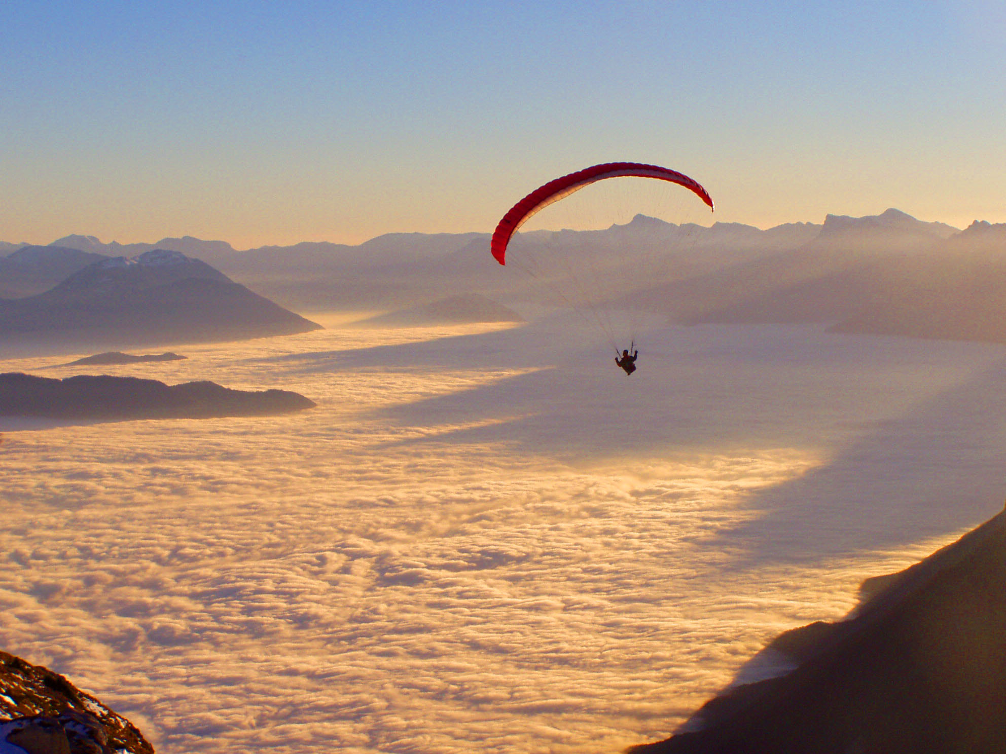 Photograph Fly over the Cloud-sea by Camille Vcr on 500px