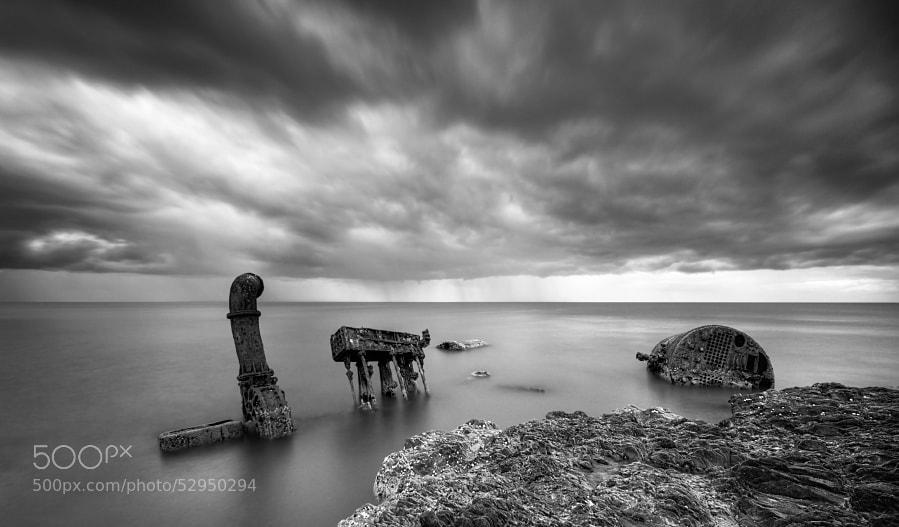 Photograph Ballymoney wreck by Darek Gruszka on 500px