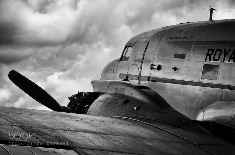 Photograph C47 Dakota #2 by Yanic Ziebel on 500px