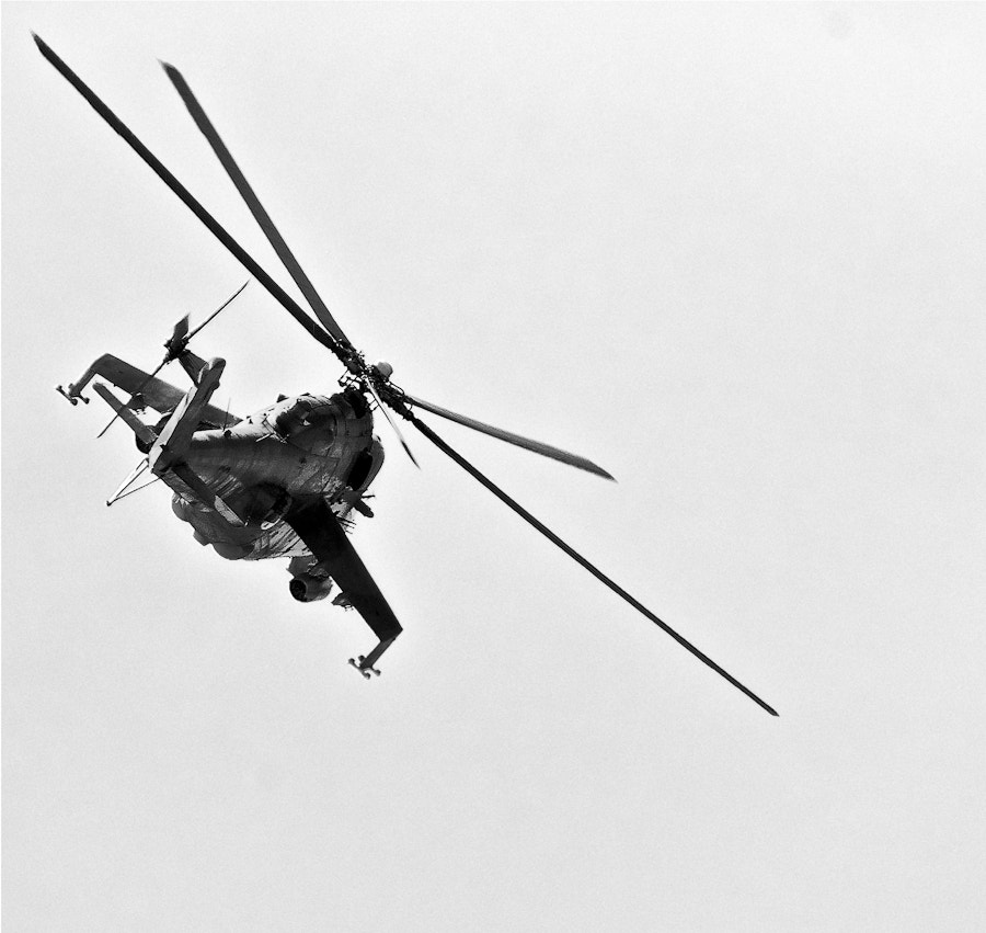 Photograph Helicopter by Gerardo Gutierrez on 500px