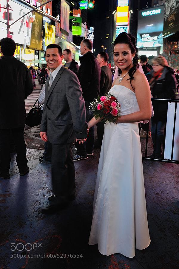 Photograph Times Square Romance by Jimmy De Taeye on 500px