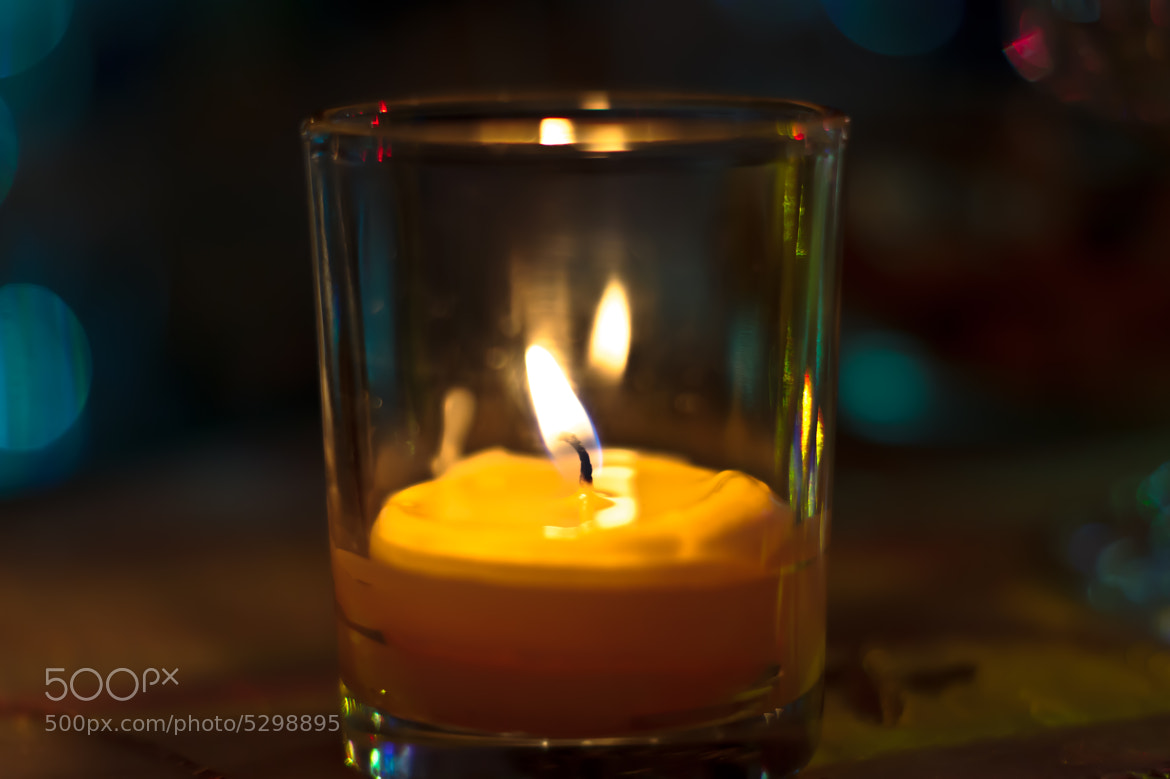 Photograph A small glass of light by Vj Marod on 500px