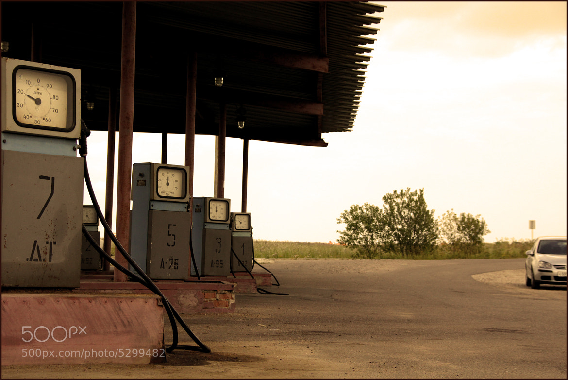 Photograph oil station by Ekaterina Denisova on 500px