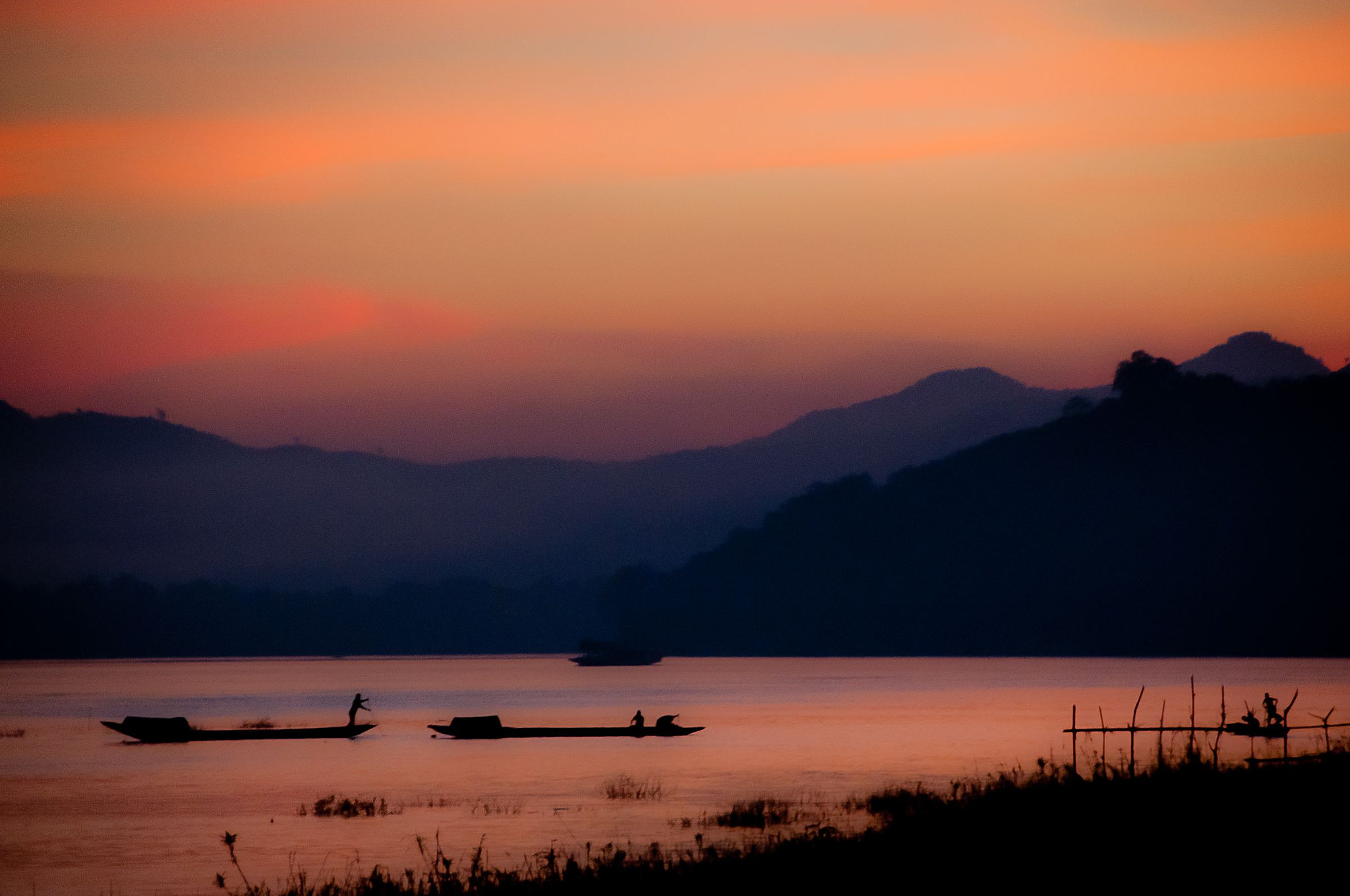 Photograph Mekong River Sunset by Frank Alvaro on 500px