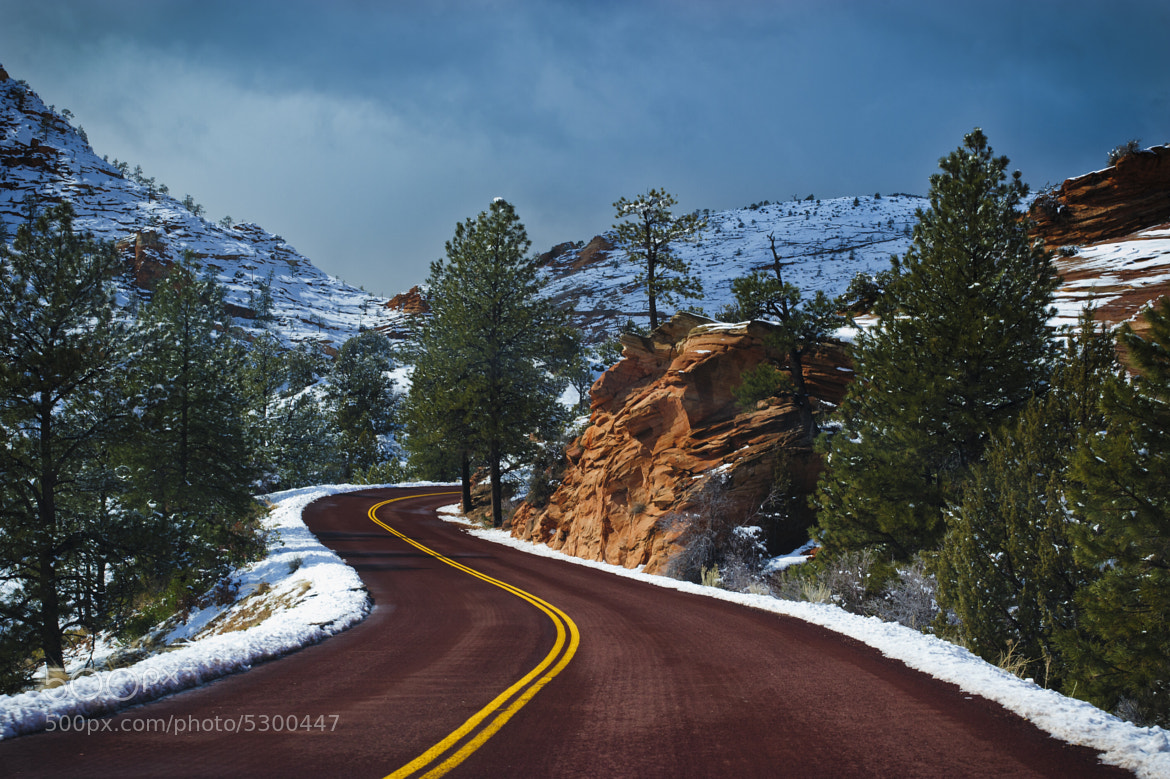 Photograph The Red Road by Jeff McGrath on 500px