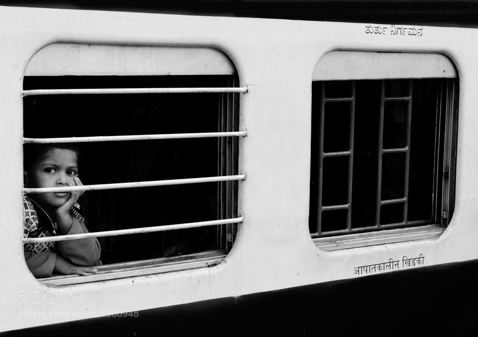 Photograph Waiting for the journey by Suresh Menon on 500px