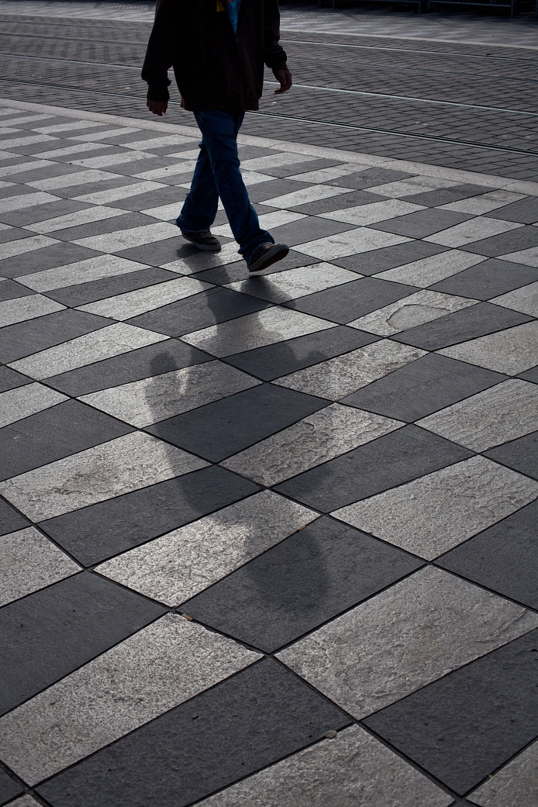Photograph Shadow of a man by Benjamin MAXANT on 500px