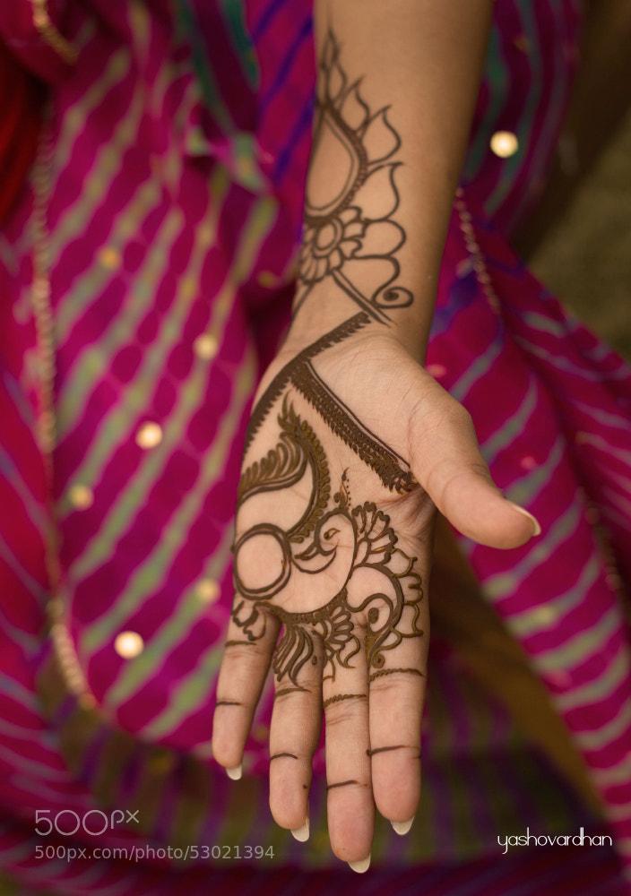 Photograph Mehndi (Hand Art) by Yashovardhan Sodhani on 500px