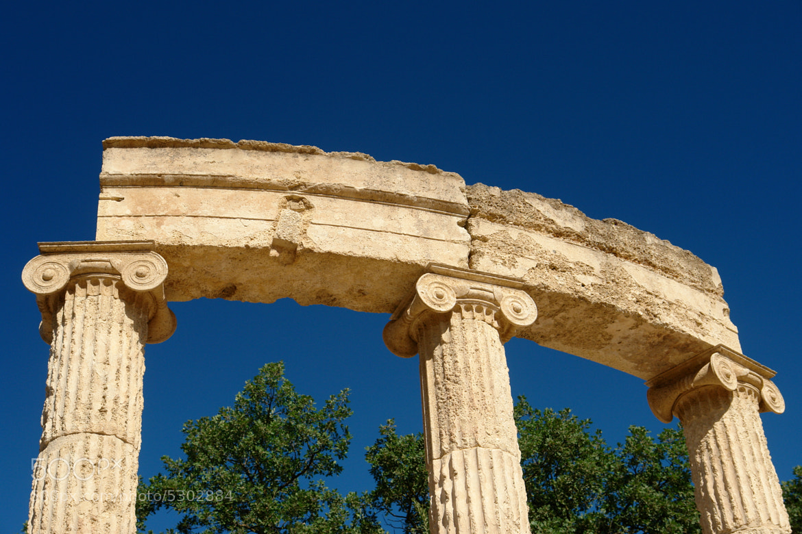 Photograph Olympia's ruins - Olympia (Greece) by Antonio Anelli on 500px