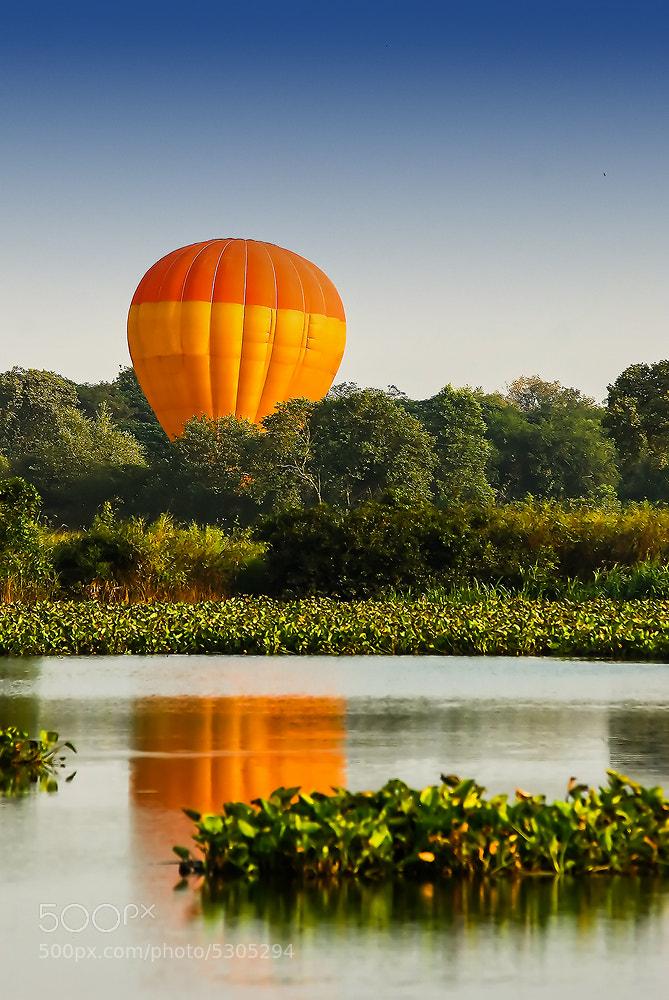 Photograph Balloon reflection by Vorravut Thanareukchai on 500px