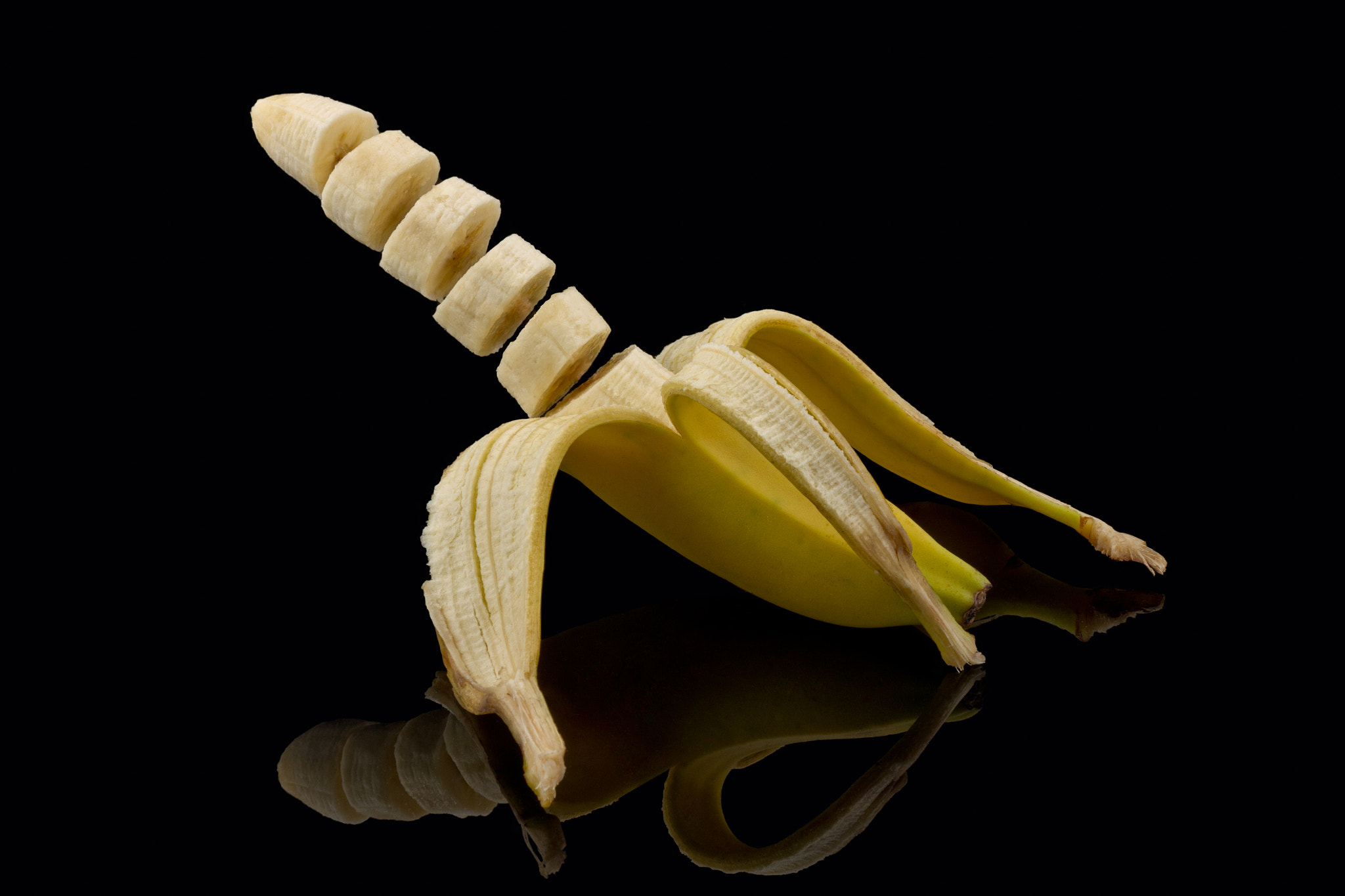 Photograph Sliced banana by Gert Lavsen on 500px