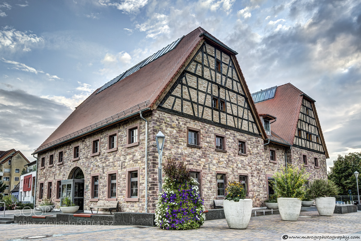 Photograph Hockenheim Library (Germany) by Marc Garrido on 500px