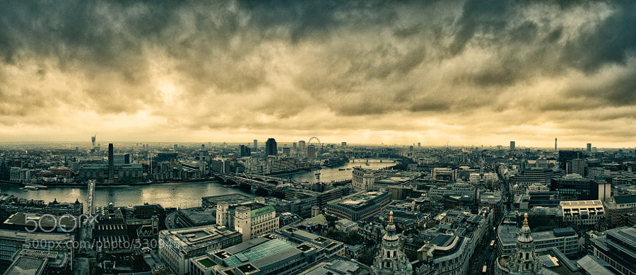 taken on top of St.Pauls cathedral