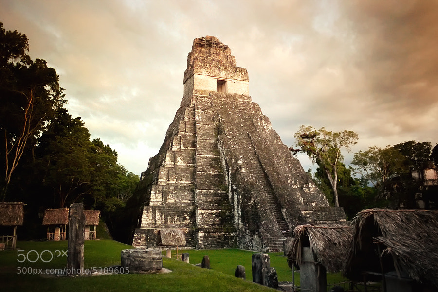 Photograph The Mayan Temple by Isac Goulart on 500px
