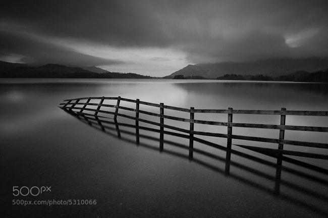 Photograph Crooked Fence by Stephen Wiggett on 500px