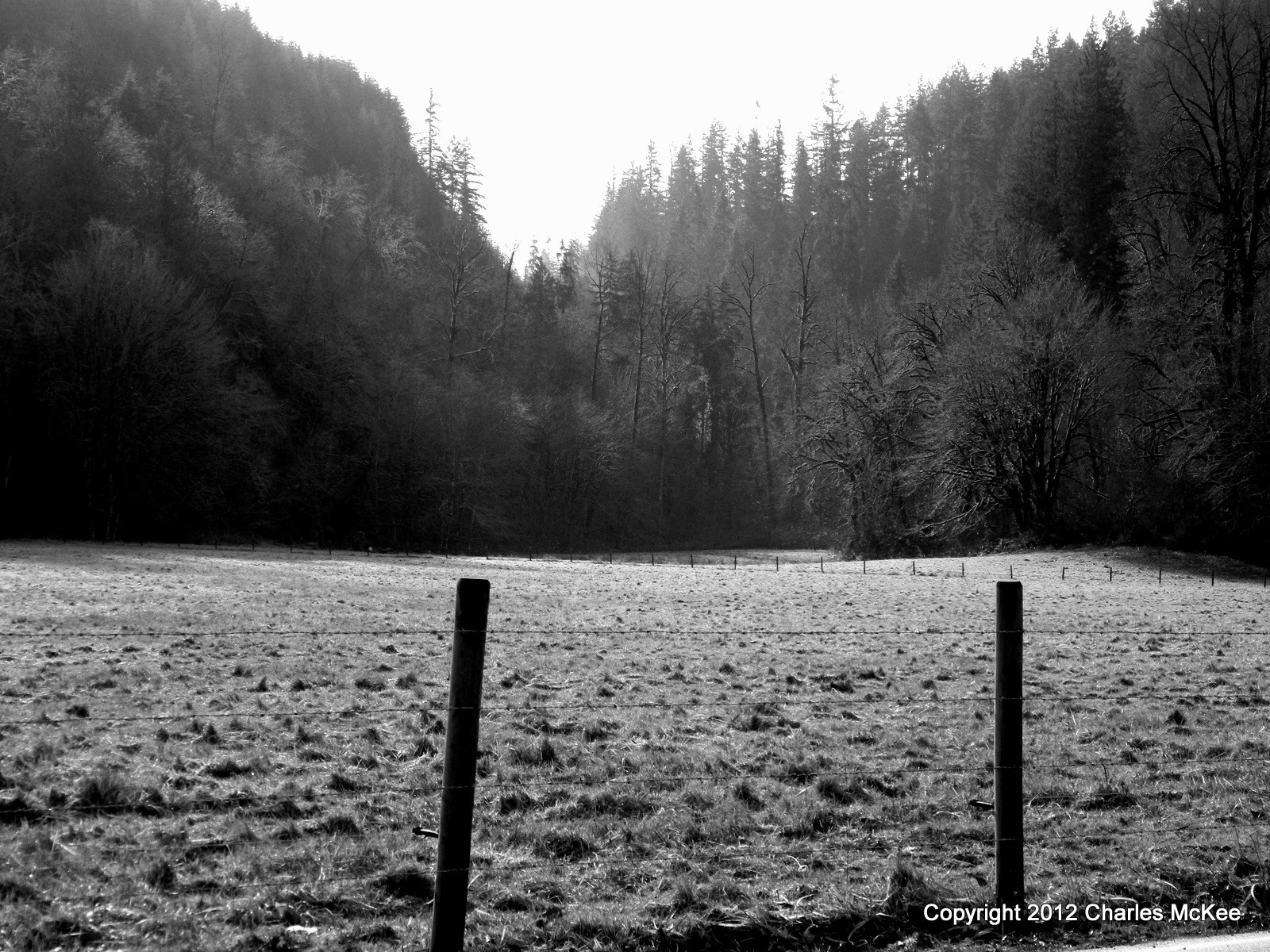 Photograph Fenced Pasture  by Charlie Mckee on 500px