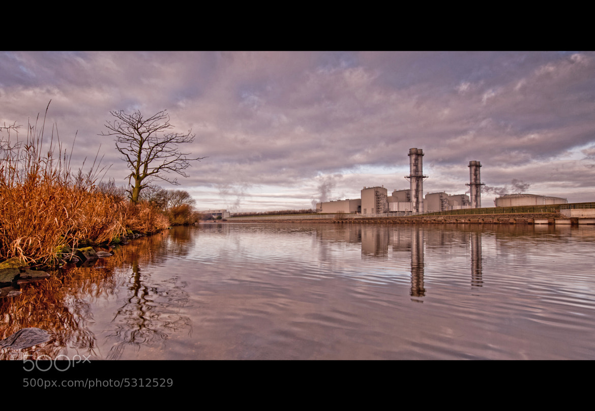Photograph NATURE vs INDUSTRY by WilsonAxpe /  Scott Wilson on 500px