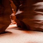 Upper Antelope Slot Canyon. Outside Page, Arizona