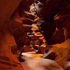 Upper Antelope Slot Canyon. Outside Page, Arizona