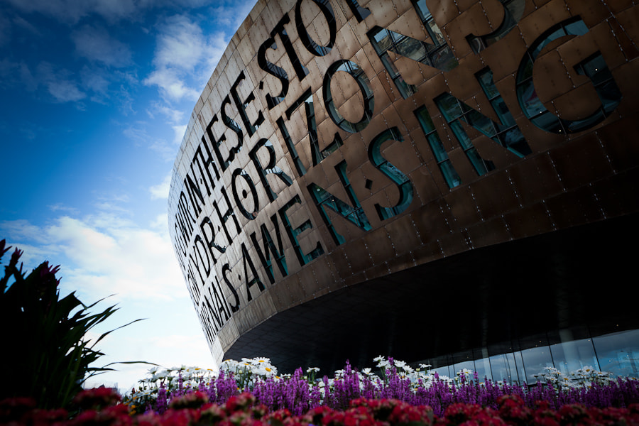 Photograph Wales milenium centre by Russell Smith on 500px
