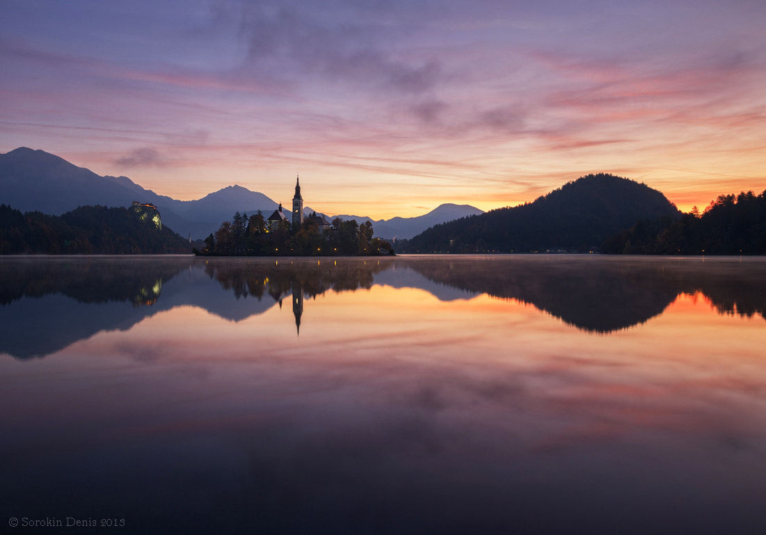 Photograph good morning, Bled! by Denis Sorokin on 500px