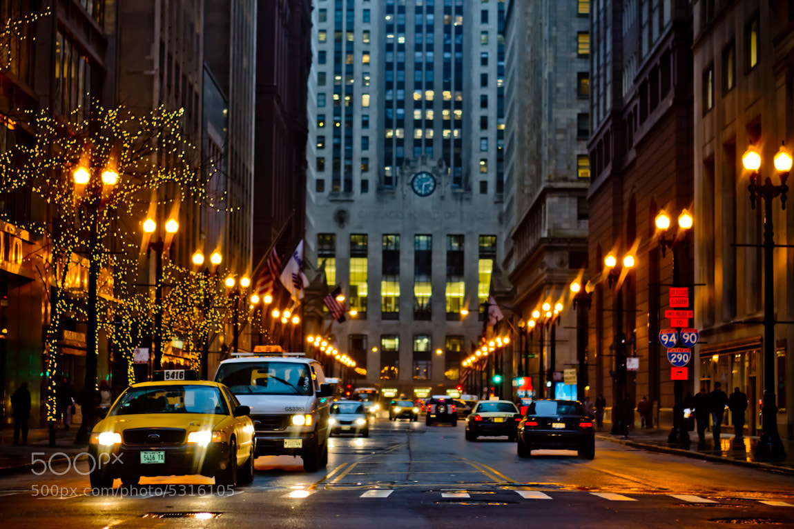 Photograph Evening In Chicago by Julian C. on 500px