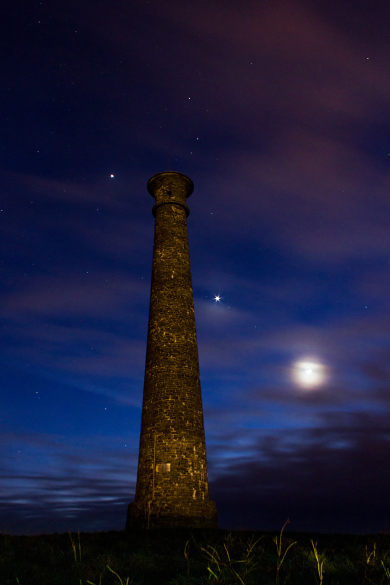 Photograph Monument Moonrise by Ad Jones on 500px