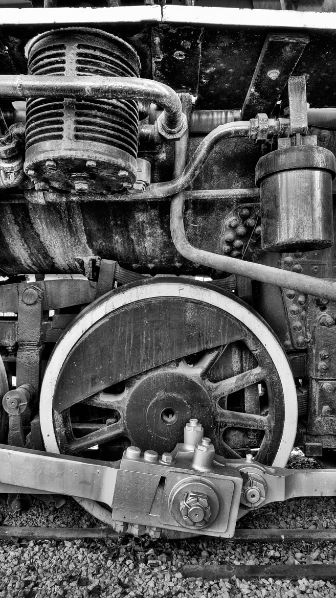 Photograph Train, detail by James Ball on 500px