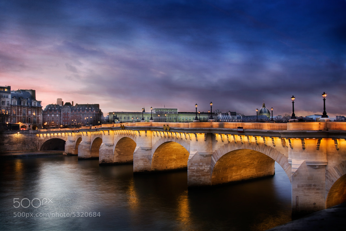 Photograph The Pont Neuf bridge Paris by Ramelli Serge on 500px