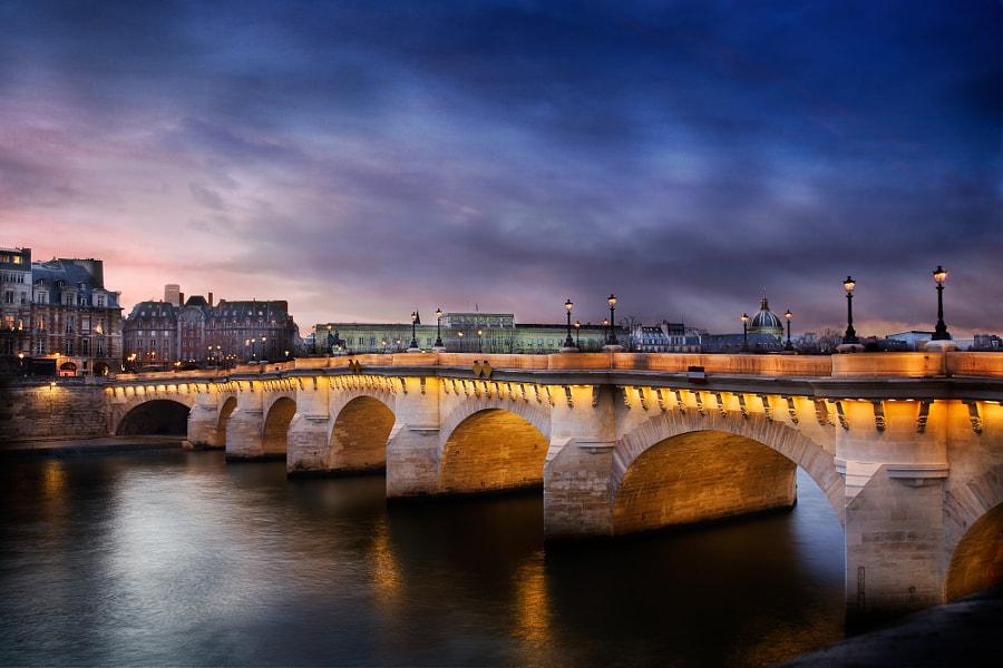 The Pont Neuf bridge Paris