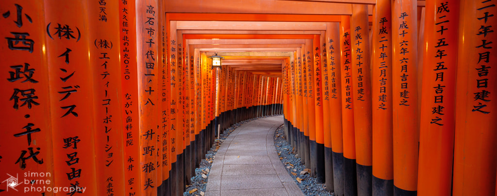 Photograph Fushimi Inari shrine, Kyoto, Japan by Simon Byrne on 500px