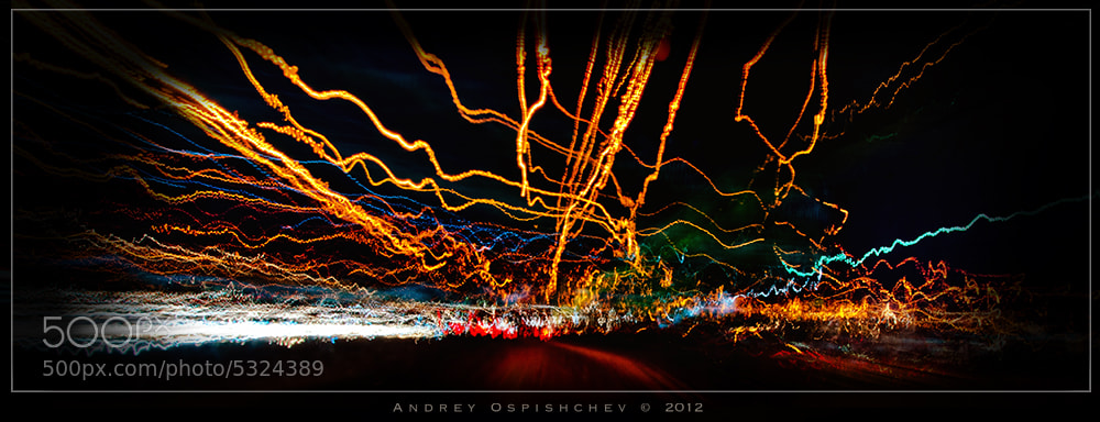 Photograph Light of nightly city #1 by Andrey  Ospishchev on 500px