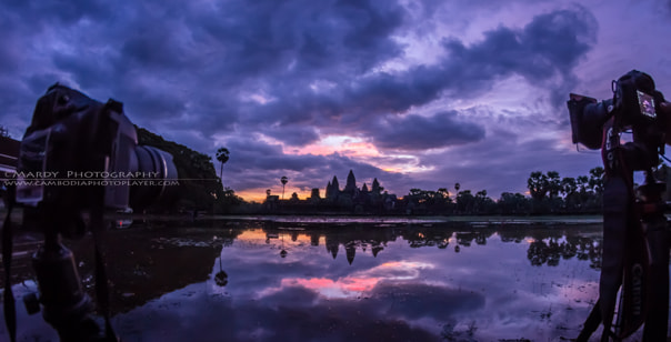 Photograph World Heritage of Angkor Wat between Nikon and Canon! by Mardy Suong Photography on 500px