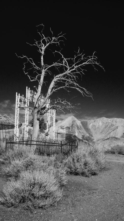 Photograph Boot hill cemetery, Nevada by James Ball on 500px