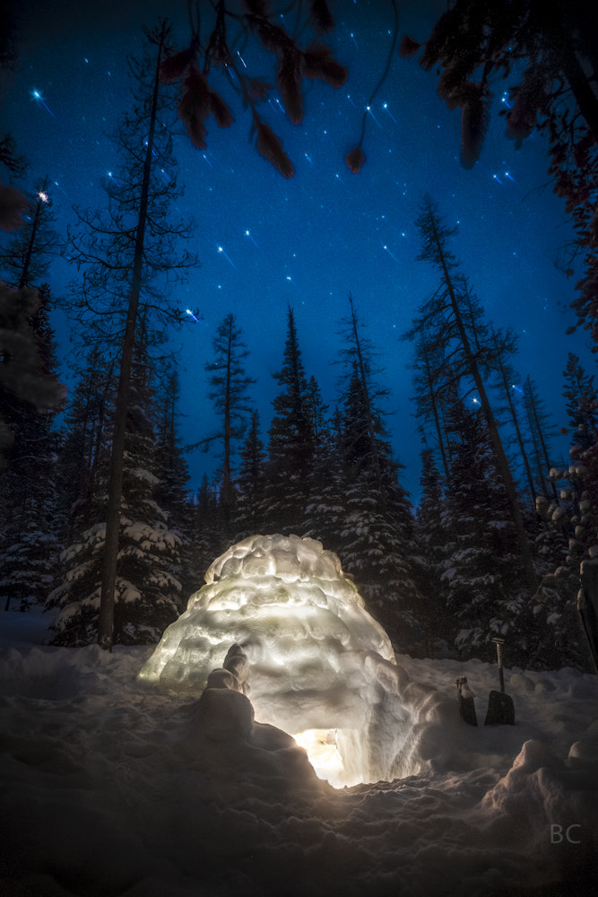Photograph Igloo in the Mountains by Ben Canales on 500px