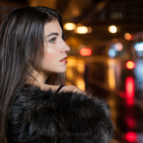 Night shooting in Luxembourg with Aurore