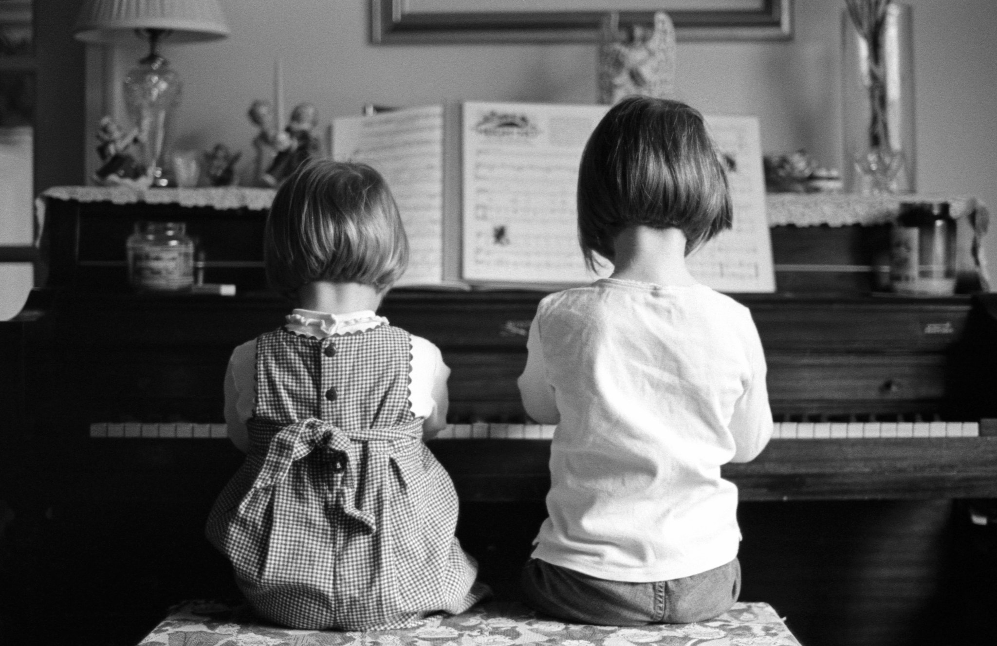 Photograph Girls at Piano by Patrick Hamilton on 500px