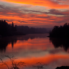 res sunrise today in lake  oswego   ....oregon